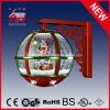 2015 Mejor Nieve Vendedor Globo Nevando Lámpara de Navidad con LEDs