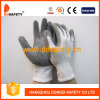 Серым перчатка покрынная нитрилом отрезока упорная Dcr117