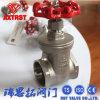 Válvula de porta da linha do aço inoxidável CF8m