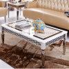 대리석 최고 금속 기초 커피용 탁자 홈 가구