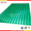 6mm hoja hueca de policarbonato PC Panel solar para la construcción/techo/Toldo