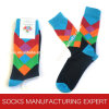 Argyle der Männer kopiert Socken