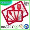 مطبخ أساسيّ أداة [بكور] سليكوون تحميص حصيرة ملوق [7بكس] مجموعة
