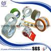 La insignia impresa oferta transparente ningunas burbujas claramente sujeta con cinta adhesiva