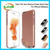 Copia de seguridad ultracompacto la batería del teléfono del banco de los casos para el iPhone 7