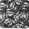 Pellicola dei grafici del reticolo nero bianco del cranio di Tsautop Tsky790 idro