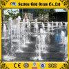 Chevreaux de parc d'attractions jouant en mode interactif la fontaine sèche