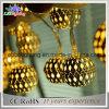 LEDのクリスマスの球の祝祭の照明クリスマスの丸いボールストリングライト