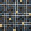 Glasmosaik-Fliese für Swimmingpool