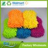 Luva colorida absorvente da lavagem de carro de Microfiber da água da alta qualidade