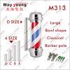 Lumière de Pôle classique de coiffeur de modèle de belles ventes chaudes M313