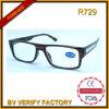 R729 Hotsale Big Frame Plastic Reading Glasses mit Metal Deco