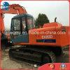 Máquina escavadora hidráulica usada da esteira rolante do Backhoe do Amarelo-Revestimento de Hitachi Ex200-1 20ton/0.5~1.0cbm 2000~09