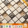 Crema Marfil marmo, resina, vetro e travertino mosaico di pietra (M823056)