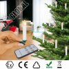 Cheap Factory Wholesale Remote Control Christmas Tree LED vela / luzes de Natal