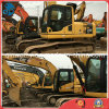 Máquina escavadora usada Japão-Original da esteira rolante de KOMATSU PC240-8 do Amarelo-Revestimento 0.5-1.5cbm/24ton hidráulico do Disponível-Motor/bomba
