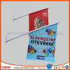 440GSM PVC 장식적인 옥외 벽 깃발을 광고하는 상점
