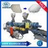 Gránulos plásticos inútiles del animal doméstico que hacen la cadena de producción de la granulación de la máquina