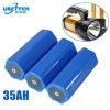 18650 personalizado Paquete de baterías de iones de litio de 3,7 V 35Ah Li-ion