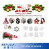 Новые горячие украшения рождества цвета заплаты сублимации сбывания