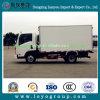 Carro diesel del rectángulo del carro de Sinotruk Cdw 80HP 4X2 Van ligero