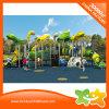 De grote Kinderen spelen de Dia's van de Apparatuur van het Pretpark van de Post Voor Park