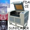 900*600mm Sunylaser Laser-Ausschnitt Machinef für Acryl