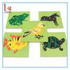 Animal et la plante lambrisse le jouet de puzzle
