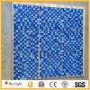 Mosaico blu di vetro della piscina