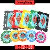 760 PCS Texas Holdem Art-/Clay-Aufkleber-Schürhaken-Chipset für spielendes Spiel (YM-MGBG001)