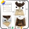 Camera del gatto dell'albero del gatto di figura di Superduty U con 2 sfere della pelliccia (YUY-CWMS-11180)