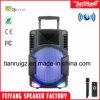 新製品DJのスピーカーのBluetoothの実行中の再充電可能なトロリースピーカーボックスFg-12