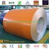 El color de la bobina de aluminio recubierto con un bajo precio -PE-naranja