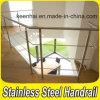 Balustrade en acier de la balustrade 304 inoxidable pour des escaliers