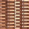 Mosaico di vetro dorato di arte di vendita calda (VMW3902)