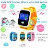 Multilanguages Y8를 가진 Ios 또는 인조 인간 선물 아이 또는 아이 GPS 추적자 시계