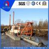 中国の製造業者のポートまたは水クリーニングのための油圧砂のカッターの吸引の浚渫船
