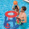 물 게임을%s 도매 팽창식 수영장 장난감 농구 링 대