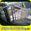 Acero inoxidable Escalera Sistema Barandilla Barandilla de escalera al aire libre