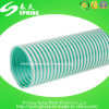 Boyau renforcé flexible d'aspiration de l'eau de PVC de fil d'acier