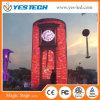 Pantalla de visualización mágica de LED de la curva de la etapa de Yestech