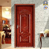 Porte intérieure en bois en acier d'offre de vente en gros de la Chine (sx-30-0005)