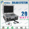20W 태양 에너지 발전기/휴대용 태양 가정 조명 시설 (PETC-FD-20W)