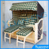 Cadeira de madeira da sala de estar da forma para o dobro