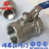 Reduzir rosqueado Port Pn16 1PC de aço carbono L da Válvula Esférica