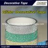 Cintas decorativas colores Glitter Glitter cinta adhesiva 1,5cm*3m, 10 colores/Set