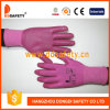 Ddsafety 2017 rosafarbenes Nylon mit rosafarbenem Nitril-Handschuh