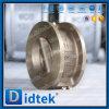 Didtek API 6D Edelstahl-Doppelplatten-Oblate-Rückschlagventil