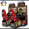 Patio interior coche de carreras arcade simulado Drivin máquina de juego sucio.