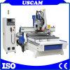 4 Mittellinie CNC, der ATC-Fräser-Gravierfräsmaschine für hölzernes Furnierholz-Acryl Arbeits ist